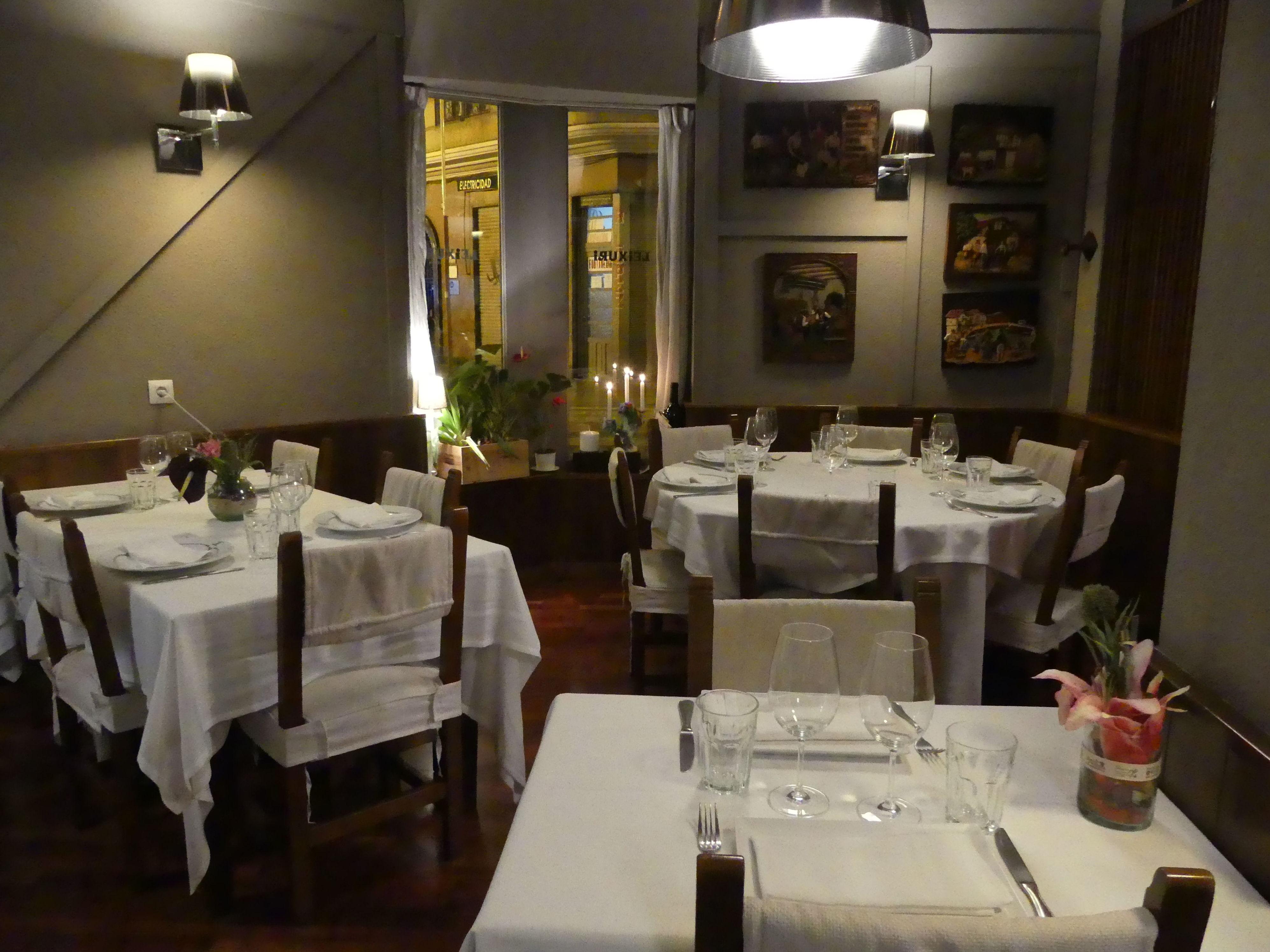 Foto 25 de Cocina vasca en Valencia | Restaurante Leixuri
