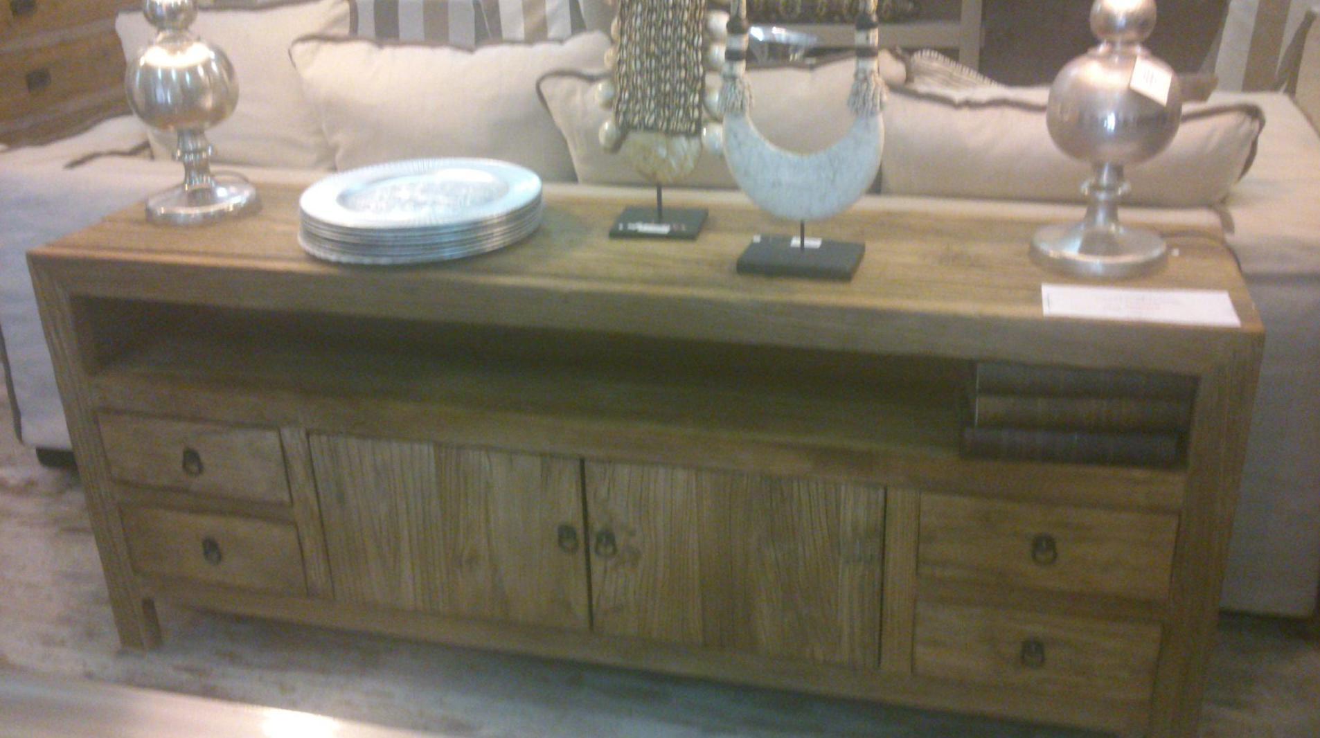 mueble tv madera reciclada de olmo mueble tv en madera reciclada de