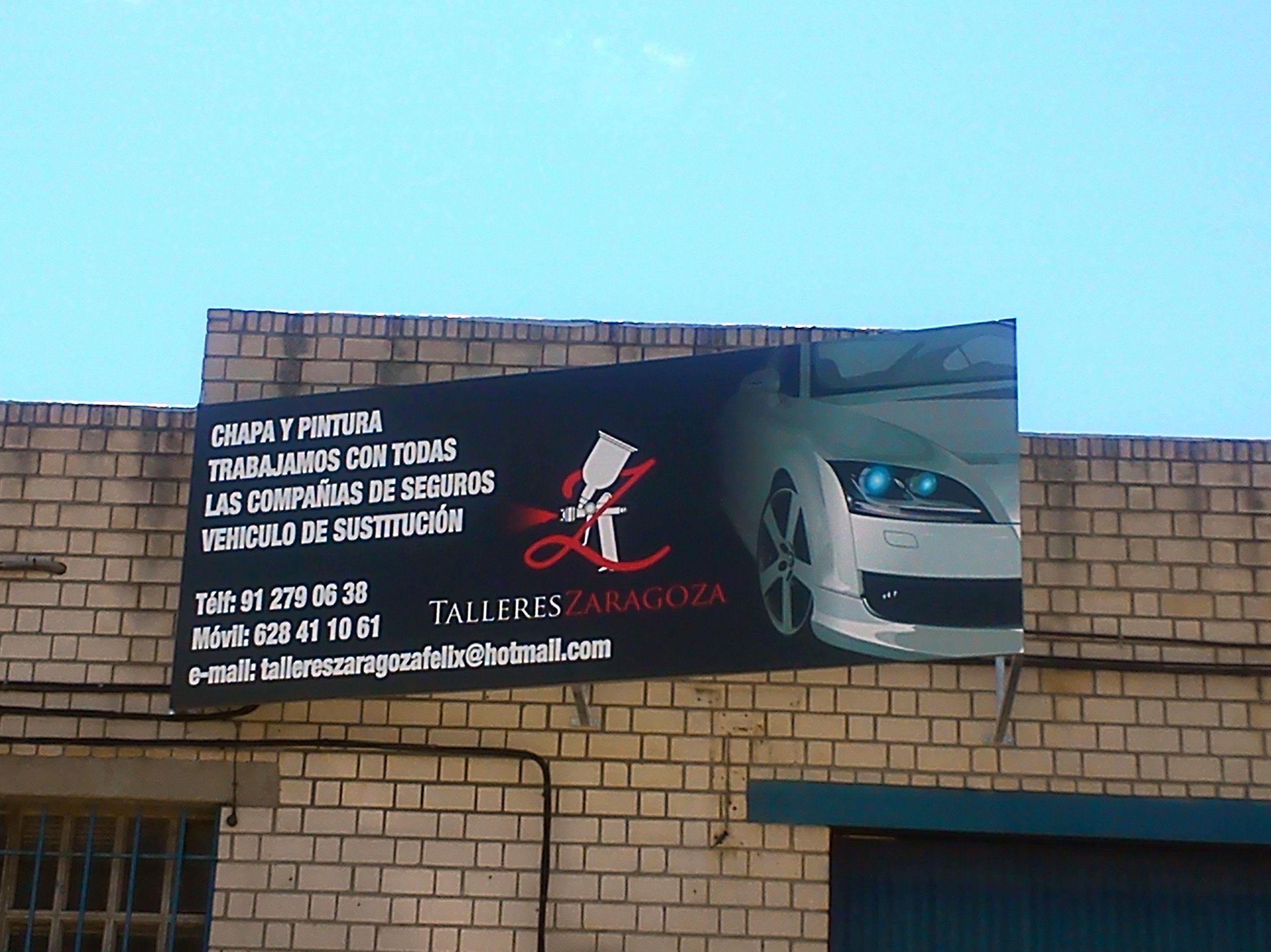 Foto 6 de talleres de chapa y pintura en valdemoro - Talleres zaragoza ...
