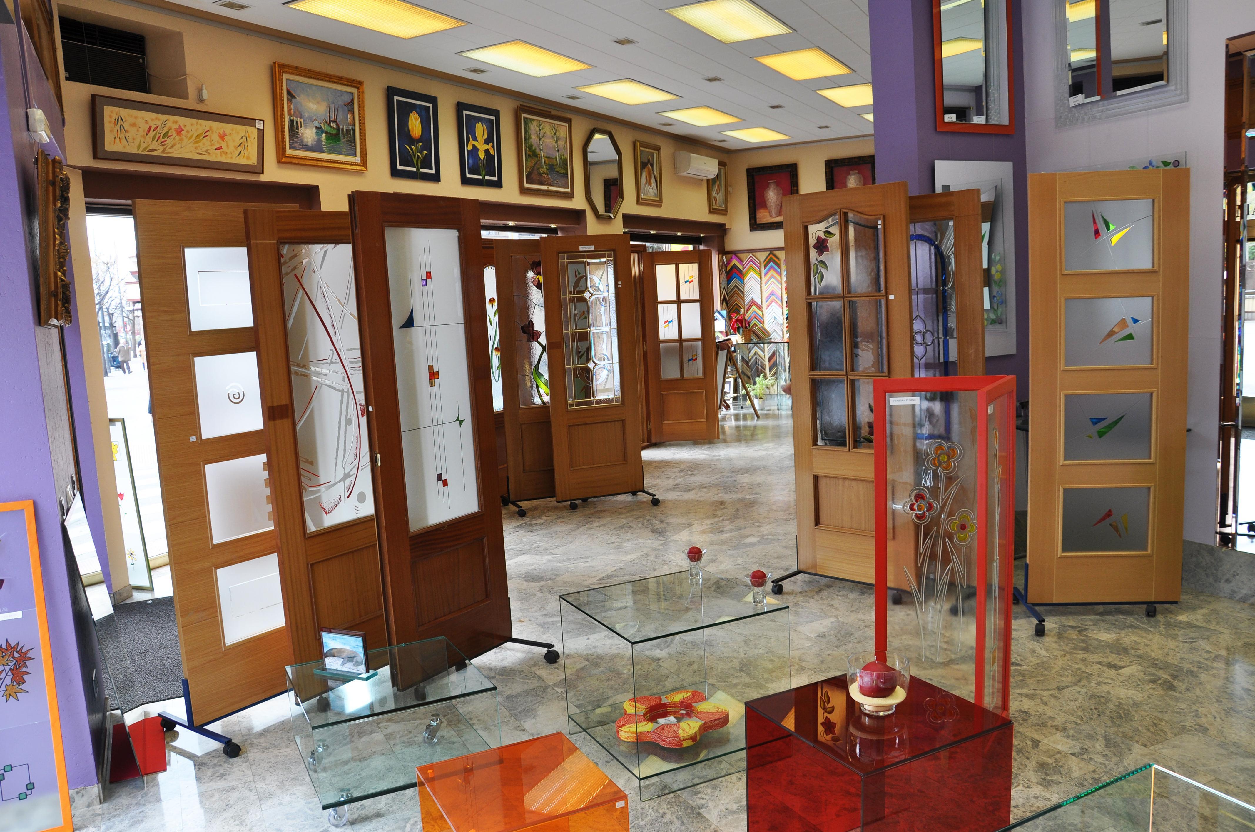 Cristaleria madrid for Cristales puertas interior