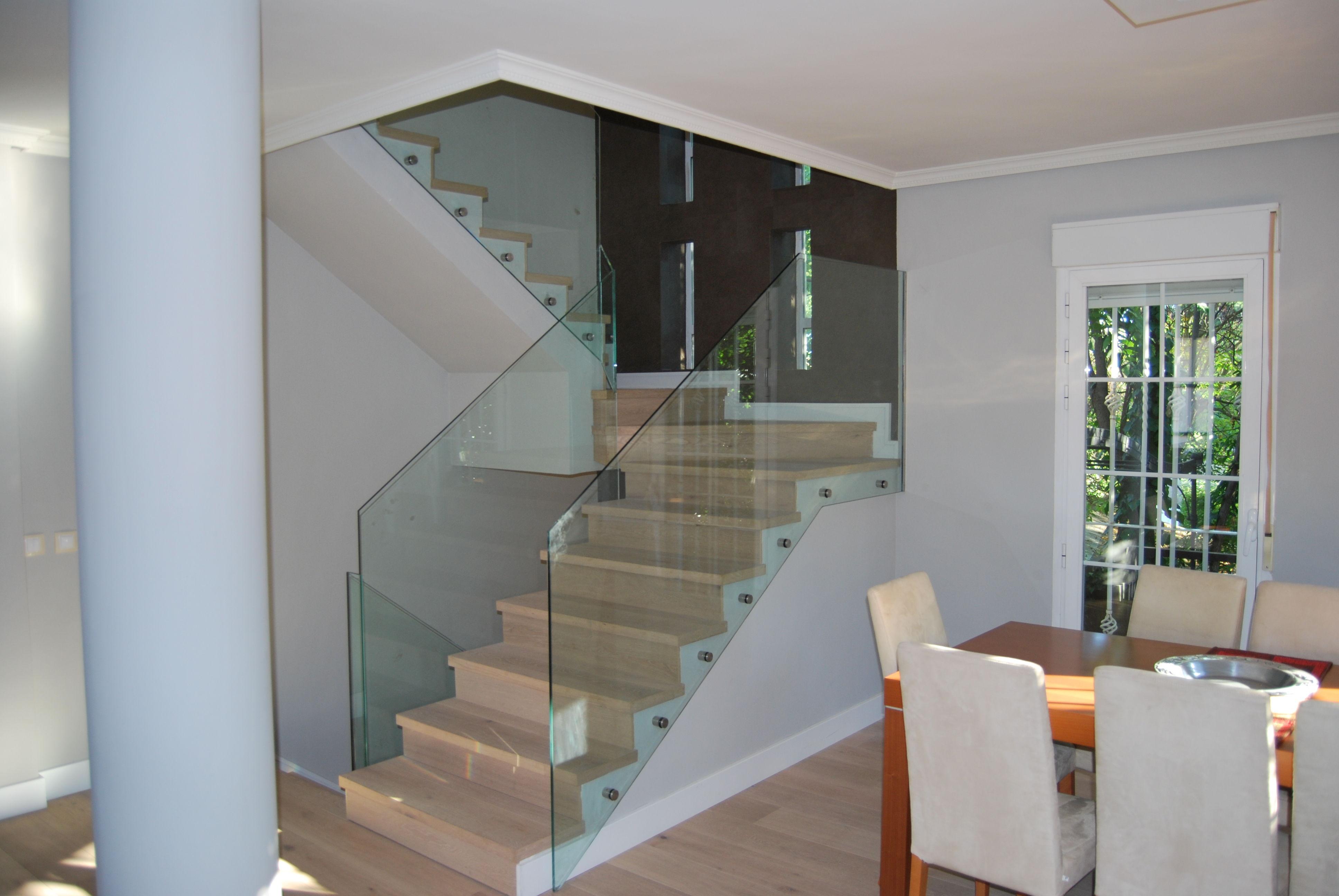 barandillas de cristal barandilla en vidrio templado