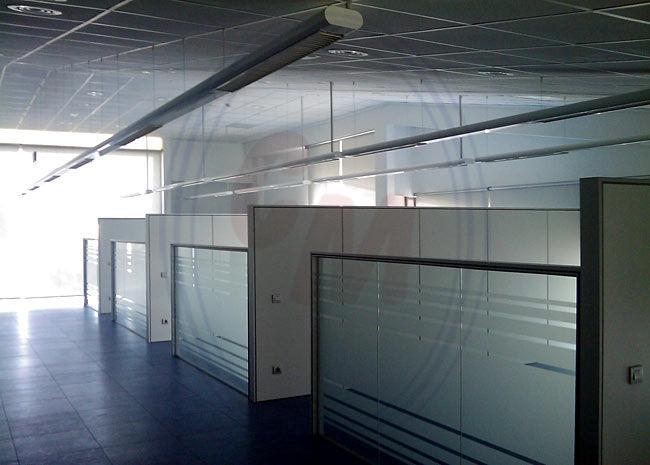 Acristalamiento de mamparas de oficina madrid productos for Mamparas de oficina madrid