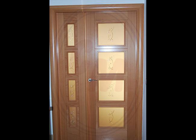 Cristales para puertas productos de cristaler a madrile a - Cristales decorativos para puertas de interior ...
