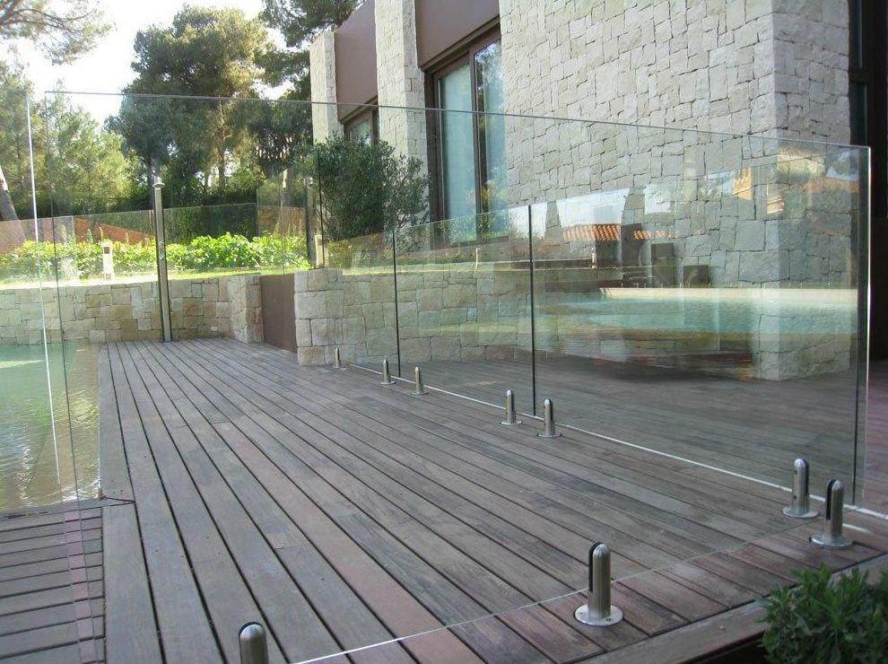 Barandillas de cristal para piscina - Barandillas de cristal para terrazas ...