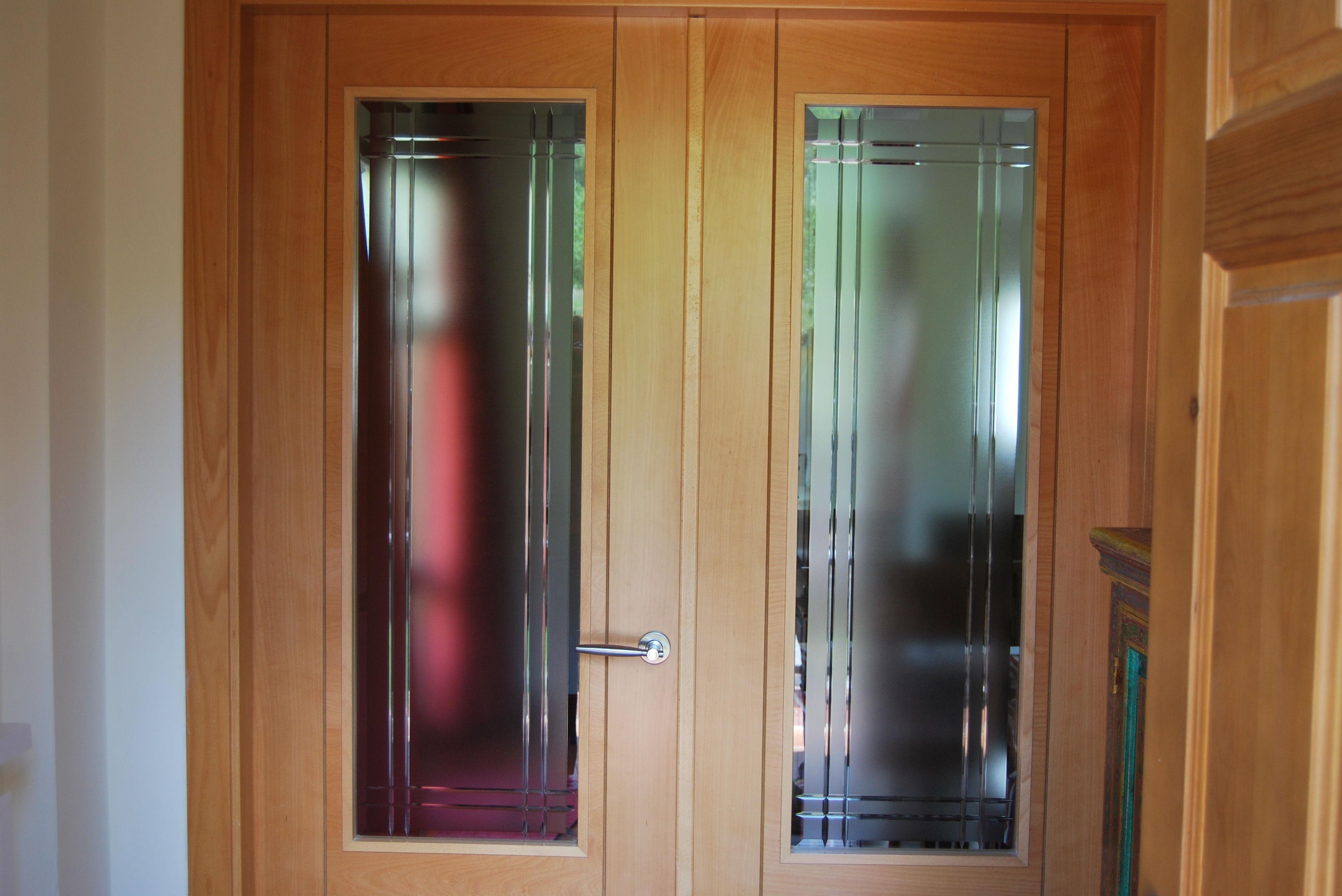 Cristales para puertas - Puertas de salon con cristal ...