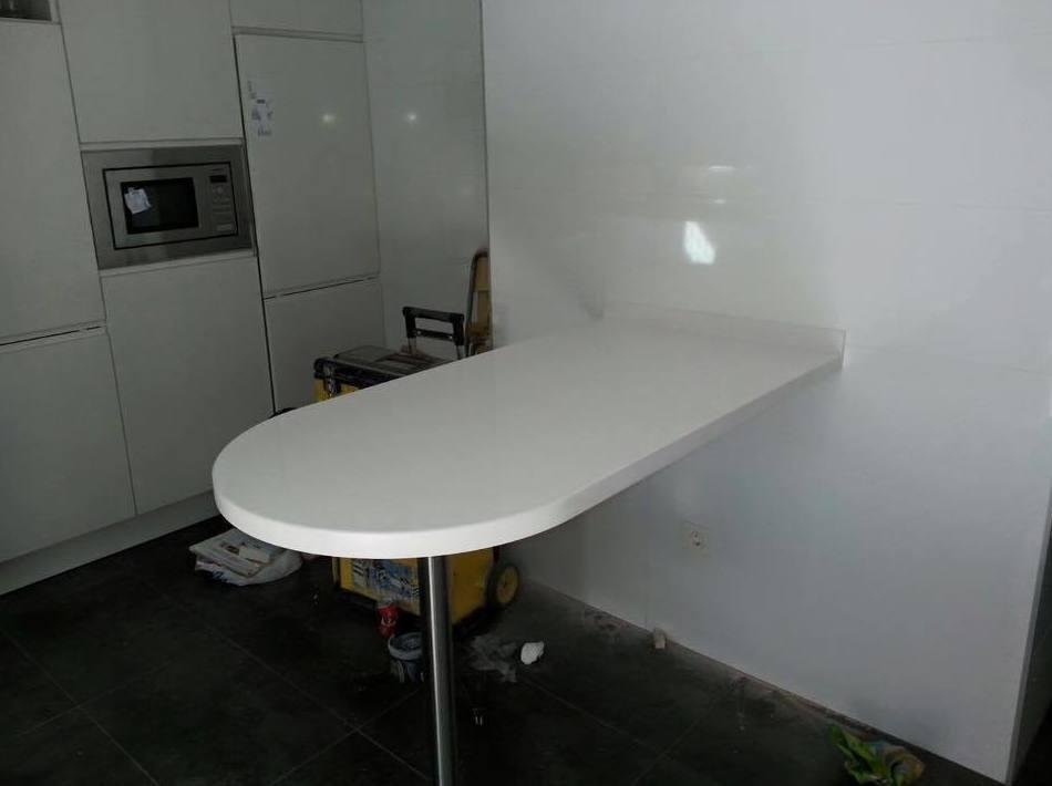 Asombroso Mesa Cocina Silestone Colección - Ideas de Decoración de ...