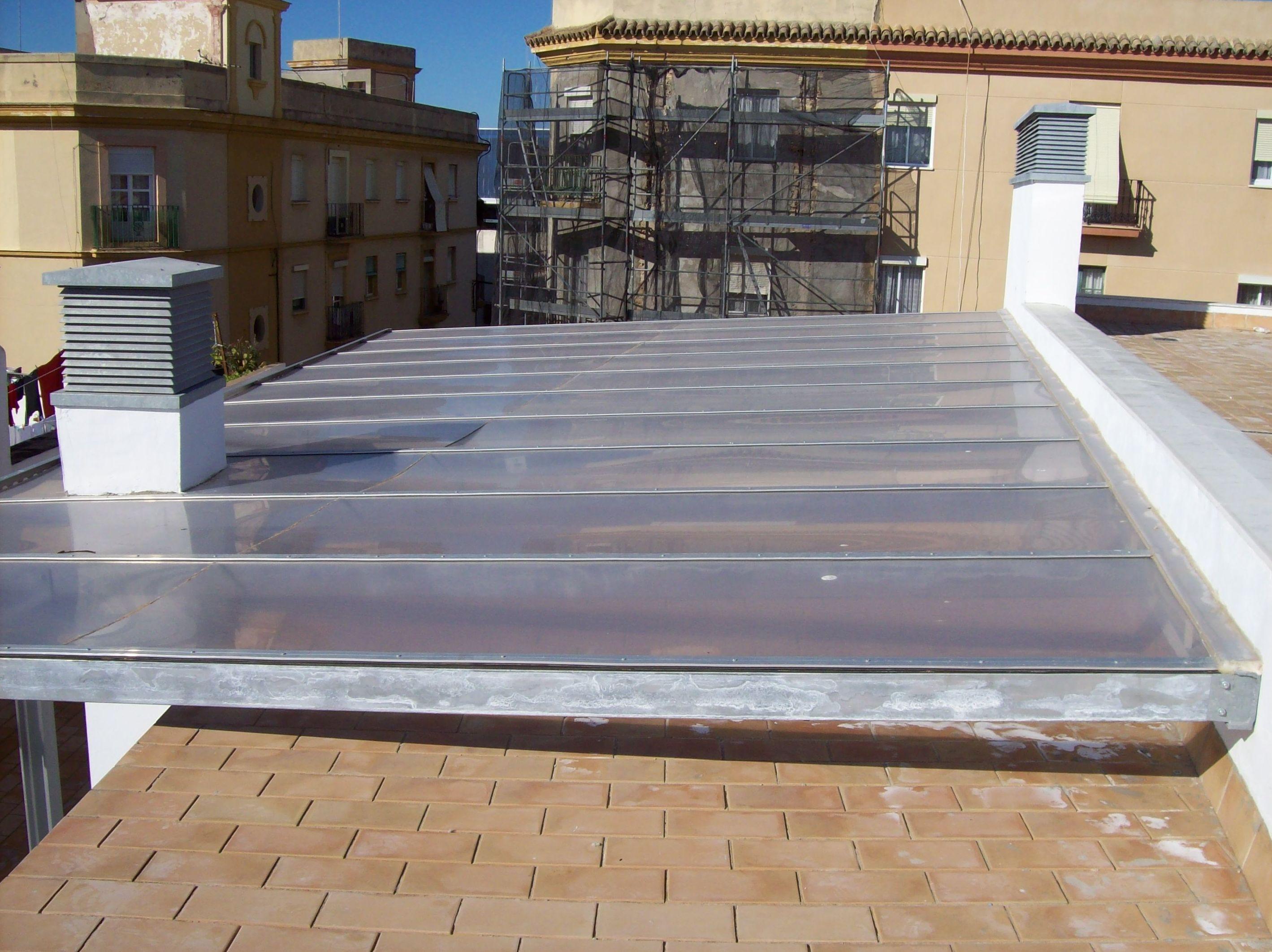 Cubiertas y cerramientos de fachada de chapa y panel - Cubierta chapa galvanizada ...