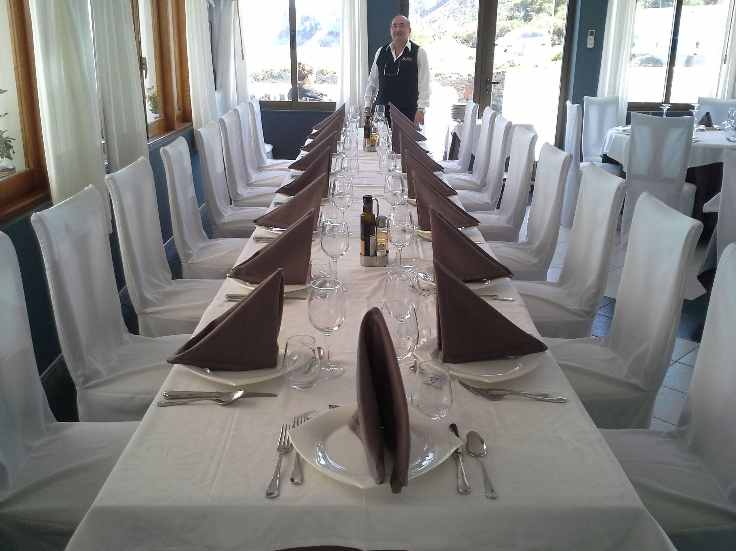 Restaurante para celebraciones familiares junto a Denia