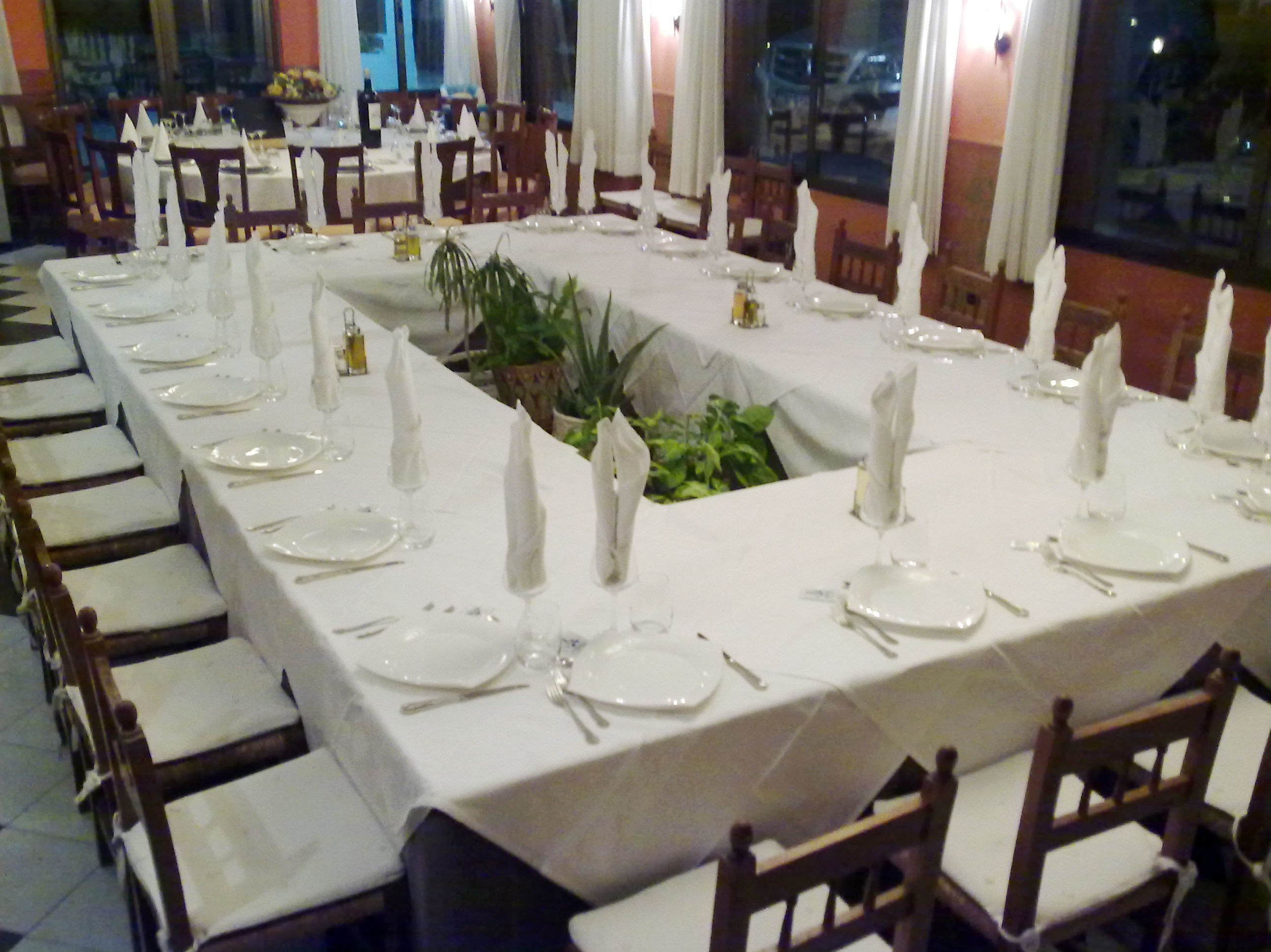 Restaurante para eventos junto a Denia