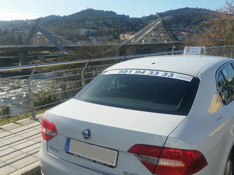 Taxi al aeropuerto en Santiago de Compostela