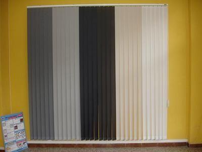 Paneles japoneses y cortinas verticales cat logo de persianas marc n - Cortinas verticales madrid ...