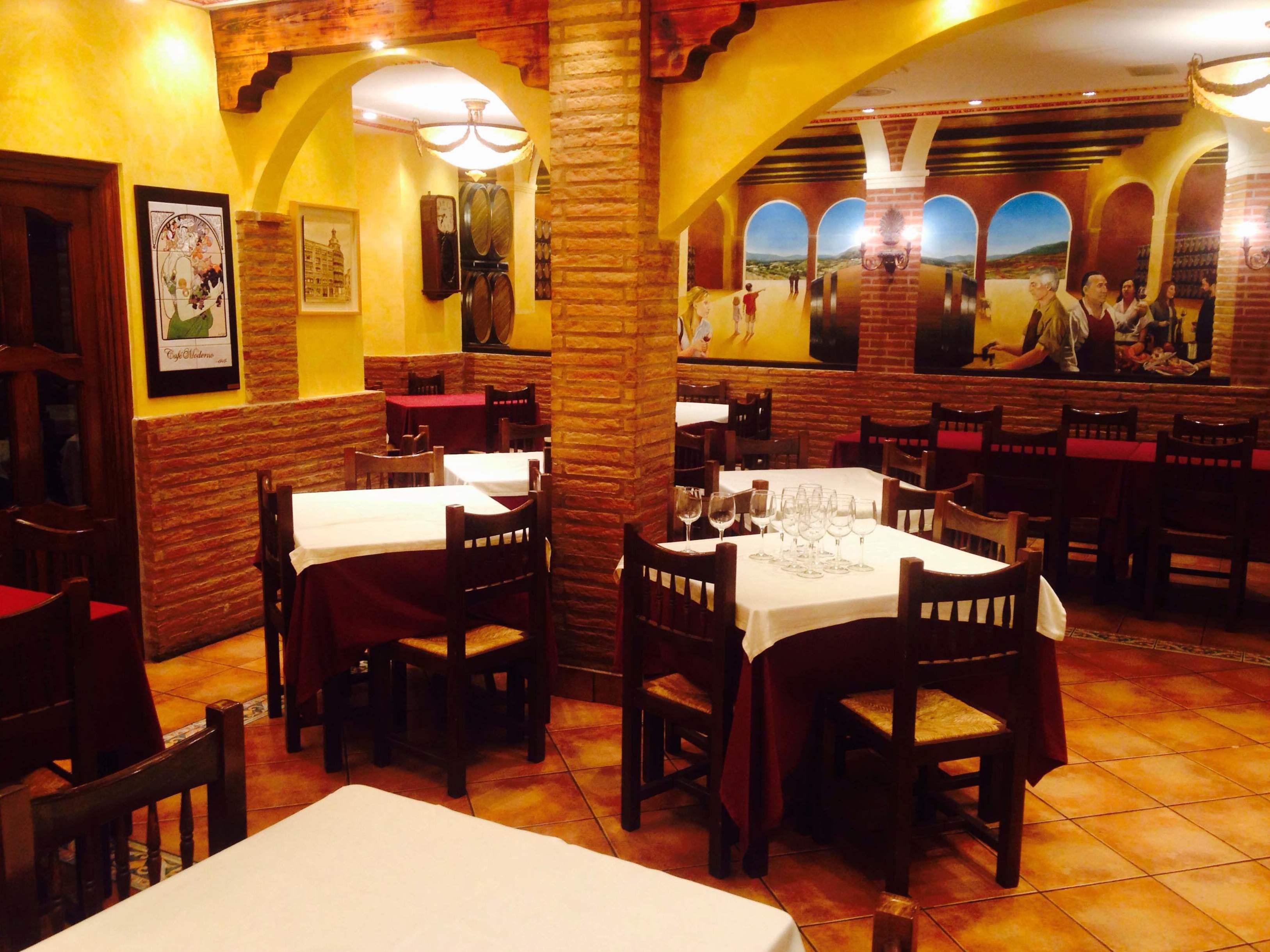 Foto 2 De Cocina Riojana En Logro O Restaurante Caf Moderno