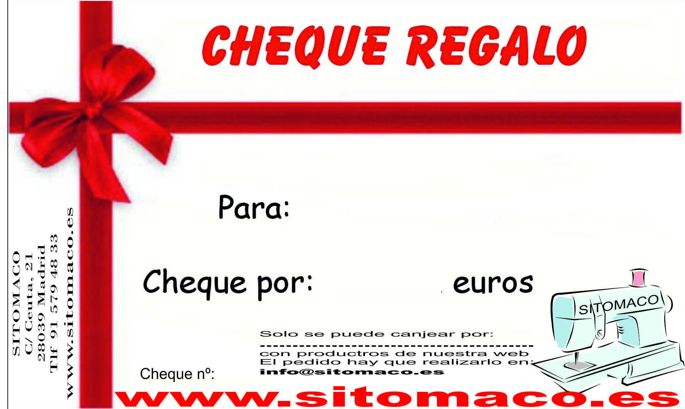 cheque regalo books2clic