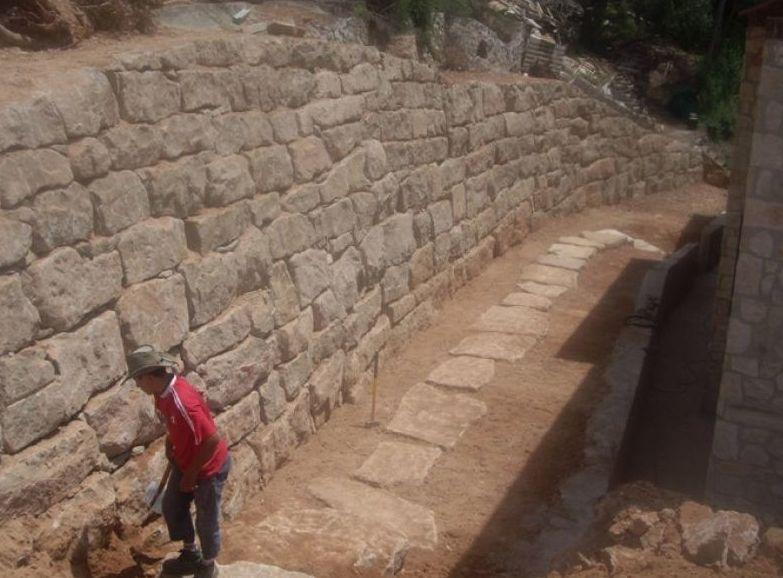 Muros de rocalla servicios de construcciones y - Muros de rocalla ...