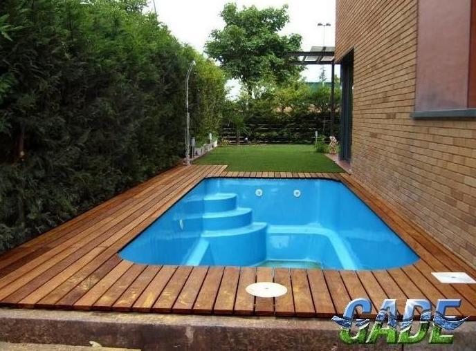 Dise o productos y servicios de gade piscinas y jardines for Piscinas de plastico para jardin