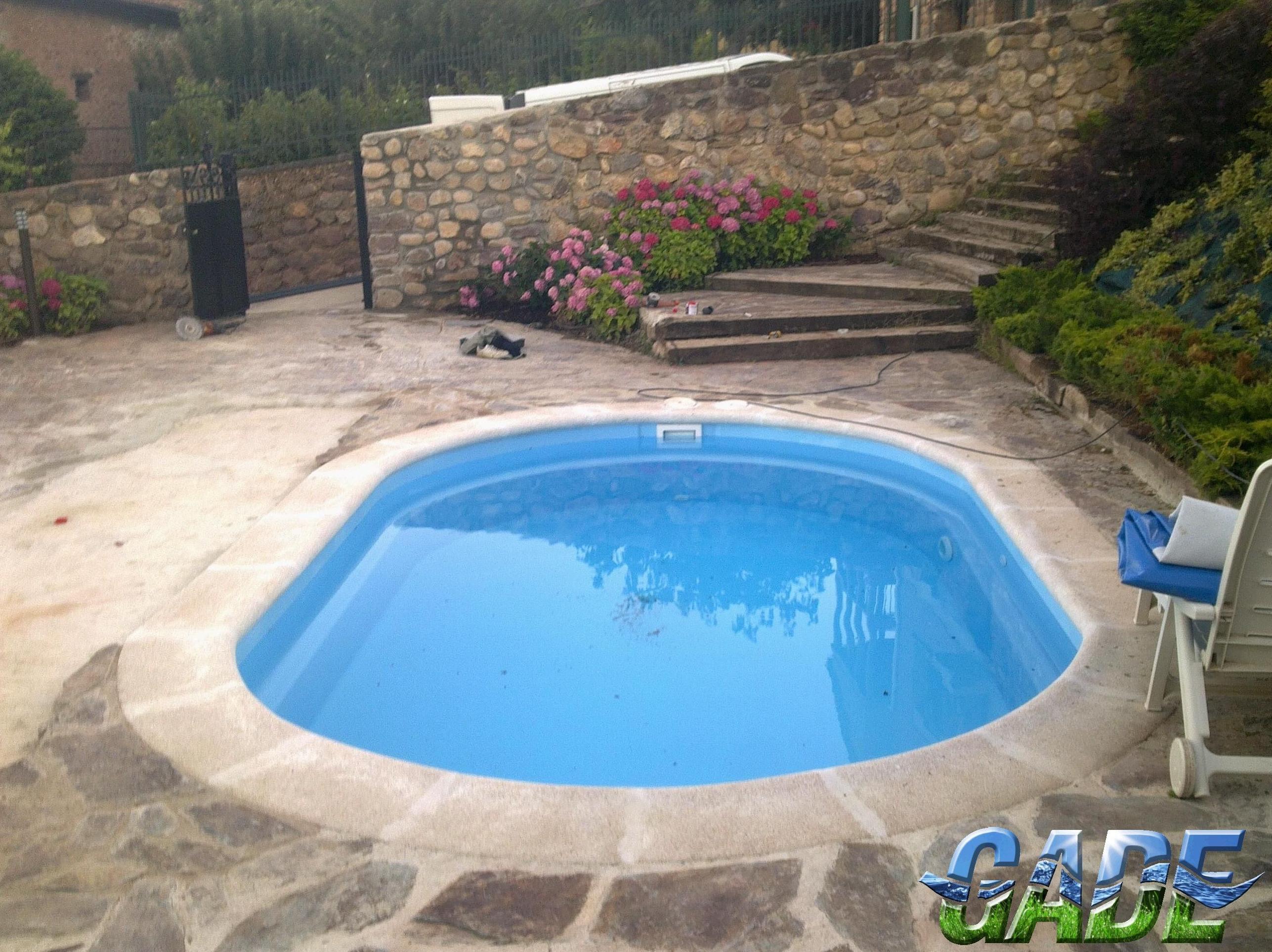 foto de instalacin de piscinas en logroo gade piscinas y jardines