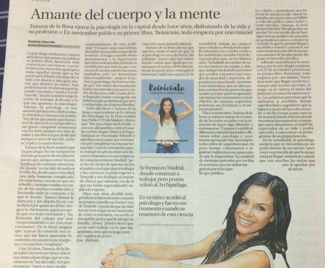 Foto 24 de Psicólogos en Santa Cruz de Tenerife   Tamara de la Rosa Psicóloga