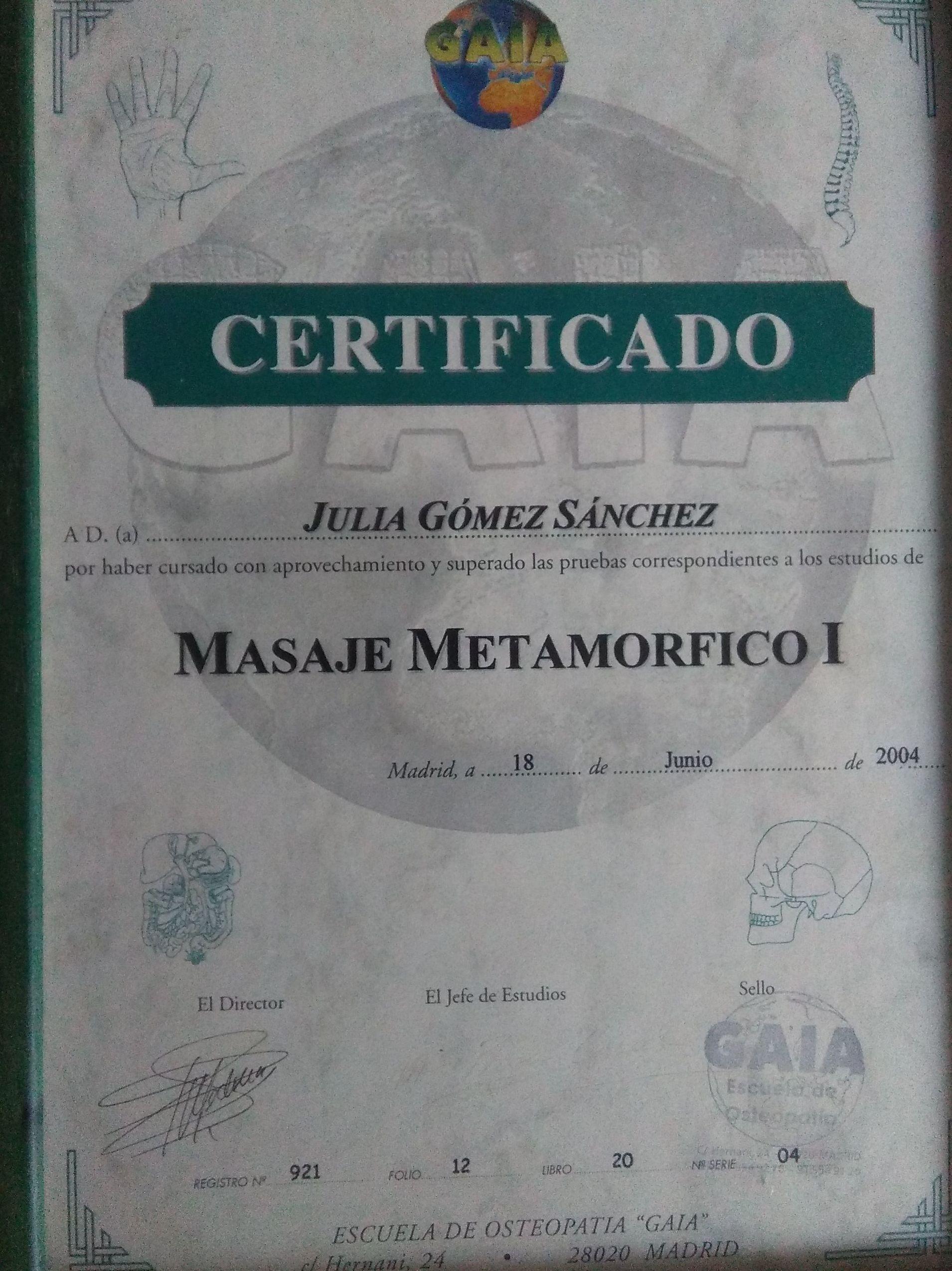 TECNICA METAMORFICA...TRABAJA EL EMBARAZO