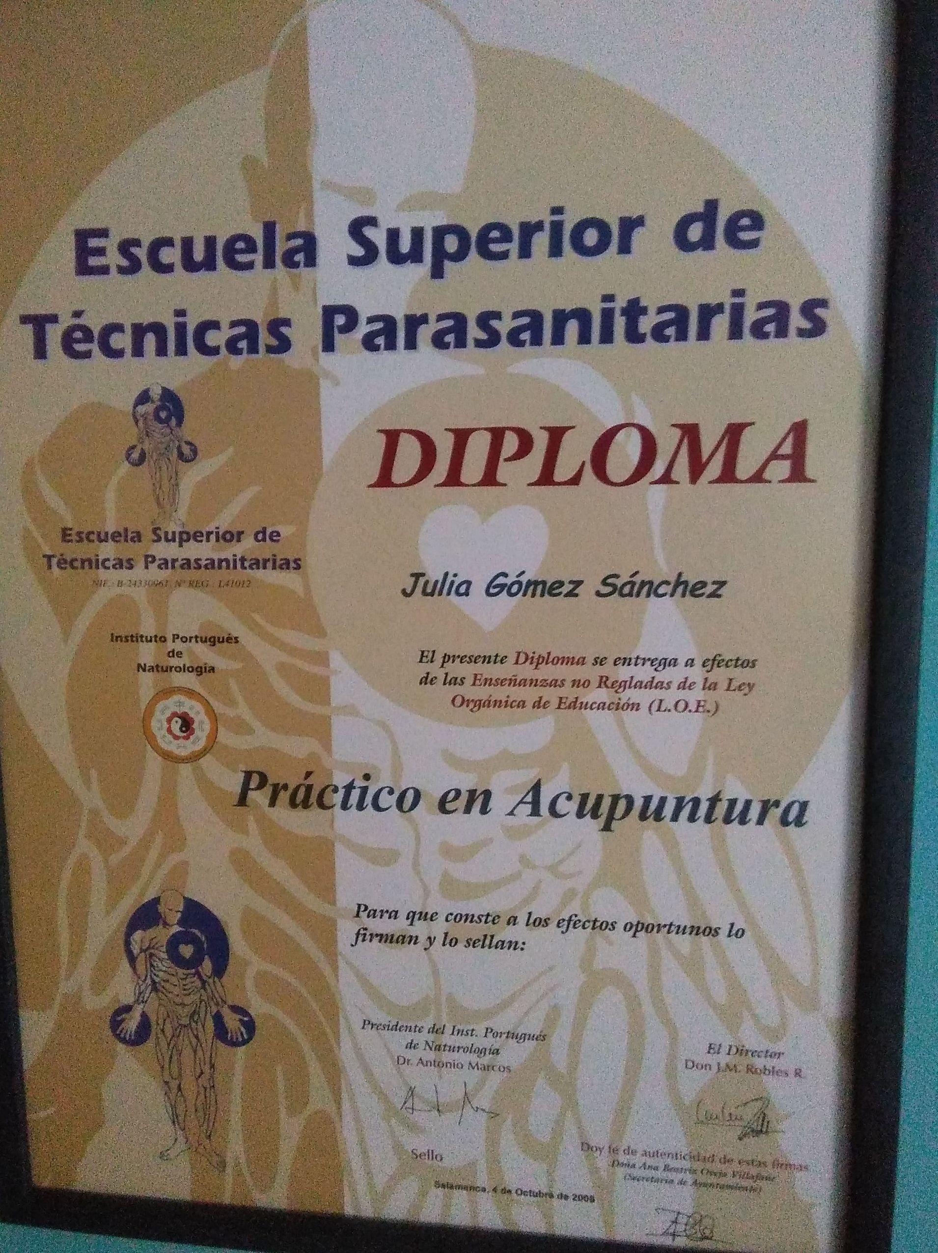 DIPLOMA DE ESPAÑA