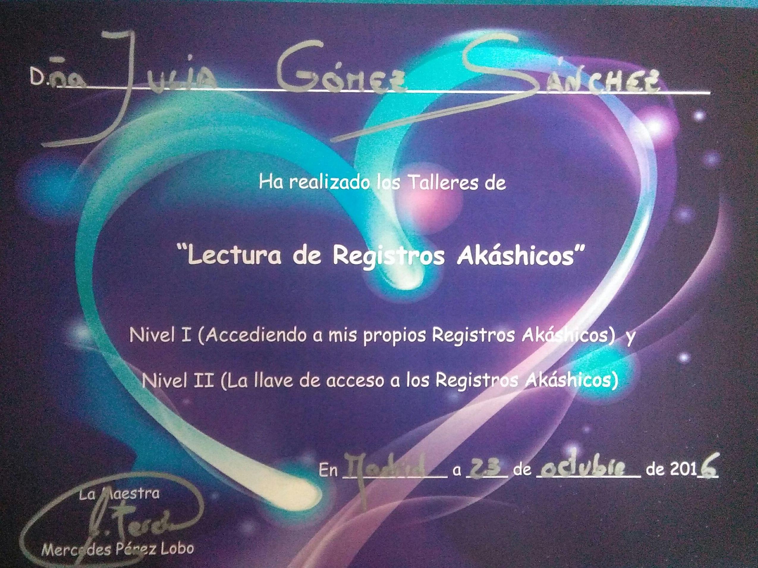 DIPLOMA DE REGISTROS