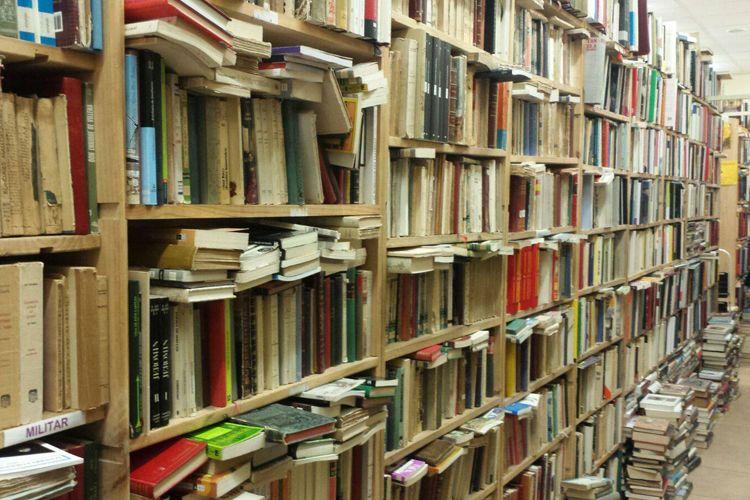 Compraventa de libros de segunda mano