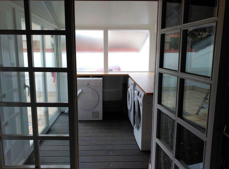 Cerramiento lavadero materiales de construcci n para la for Lavaderos practicos
