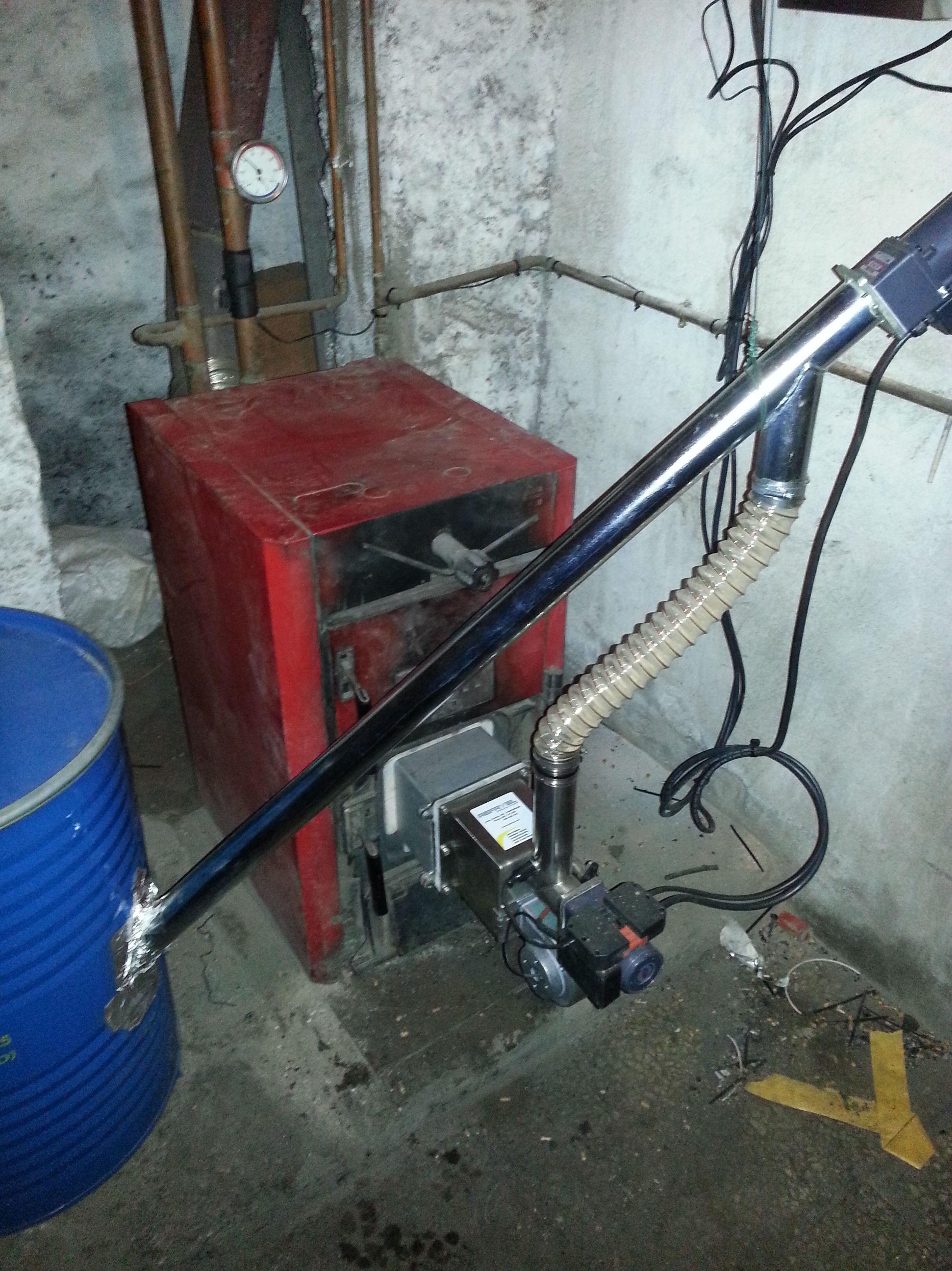 Foto 24 de instalaciones calefacci n electricidad - Precio caldera pellets ...