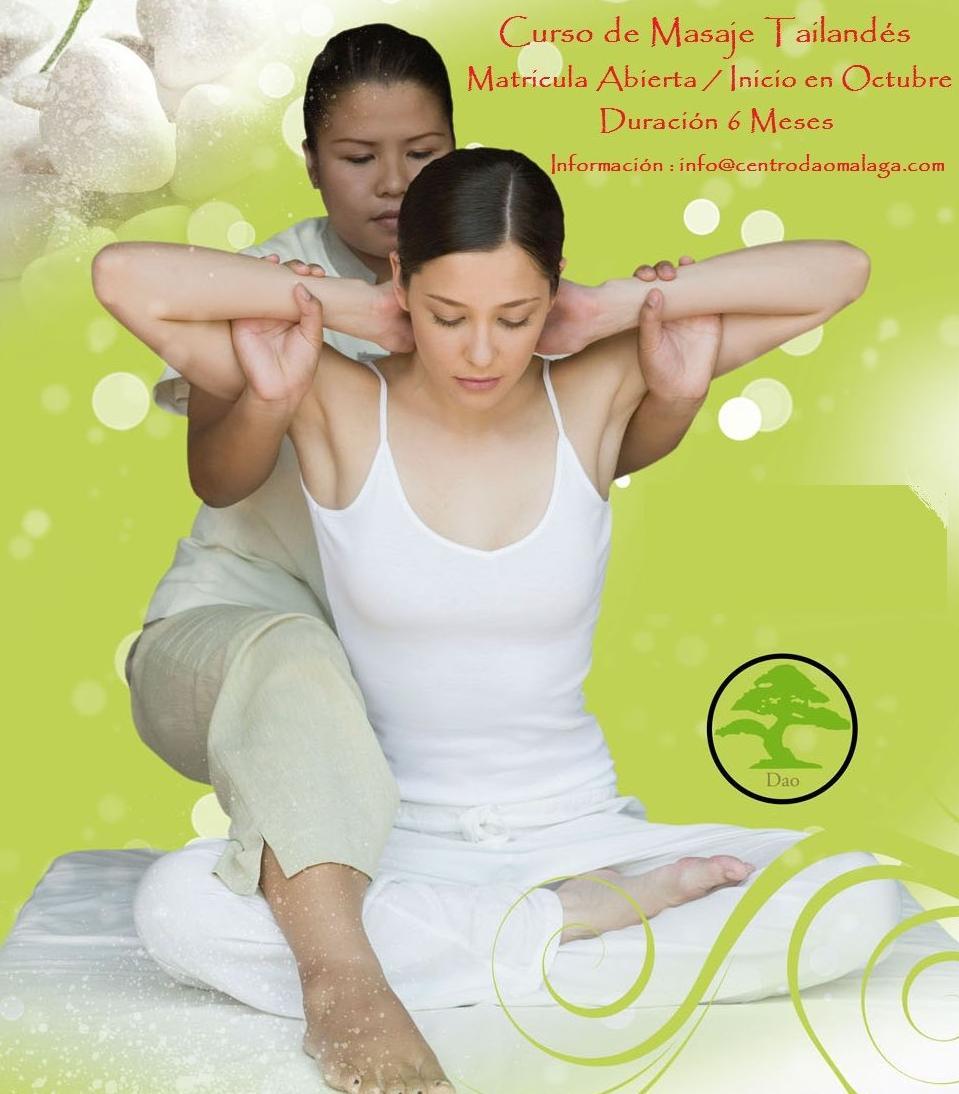 Centro Dao Málaga, cursos de masaje tailandés
