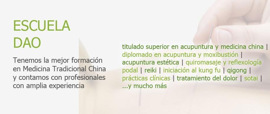 Escuela Dao, formación en medicina tradicional china en Málaga