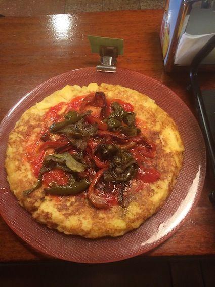 Bokatas de tortilla: Carta de Muga Taberna