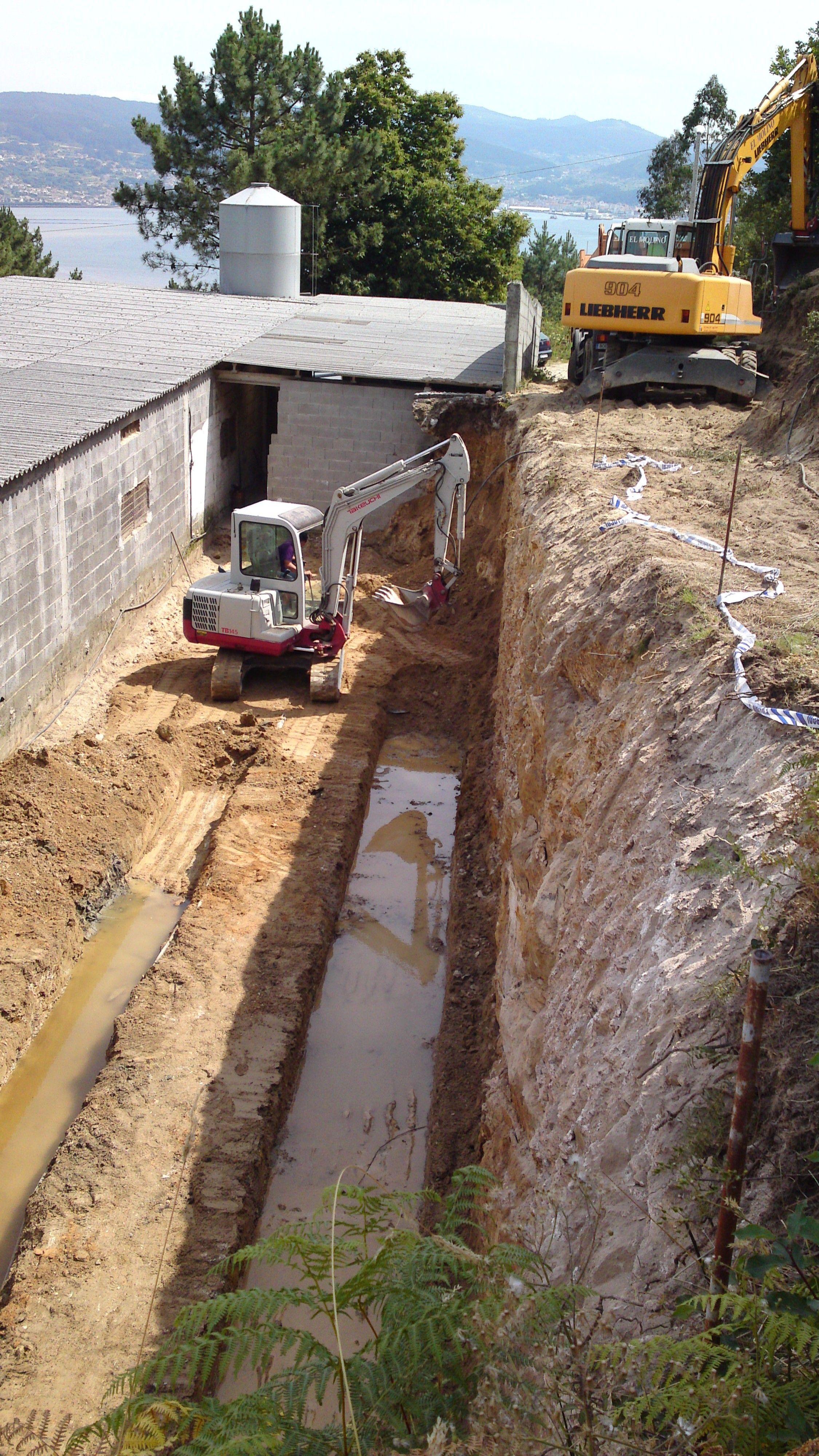 excavacion para muro