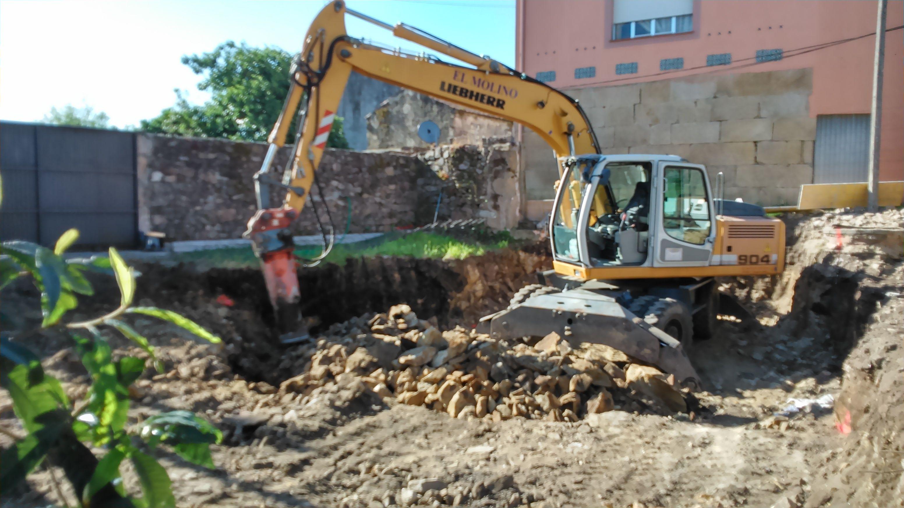 excavacion de sotano para vivienda