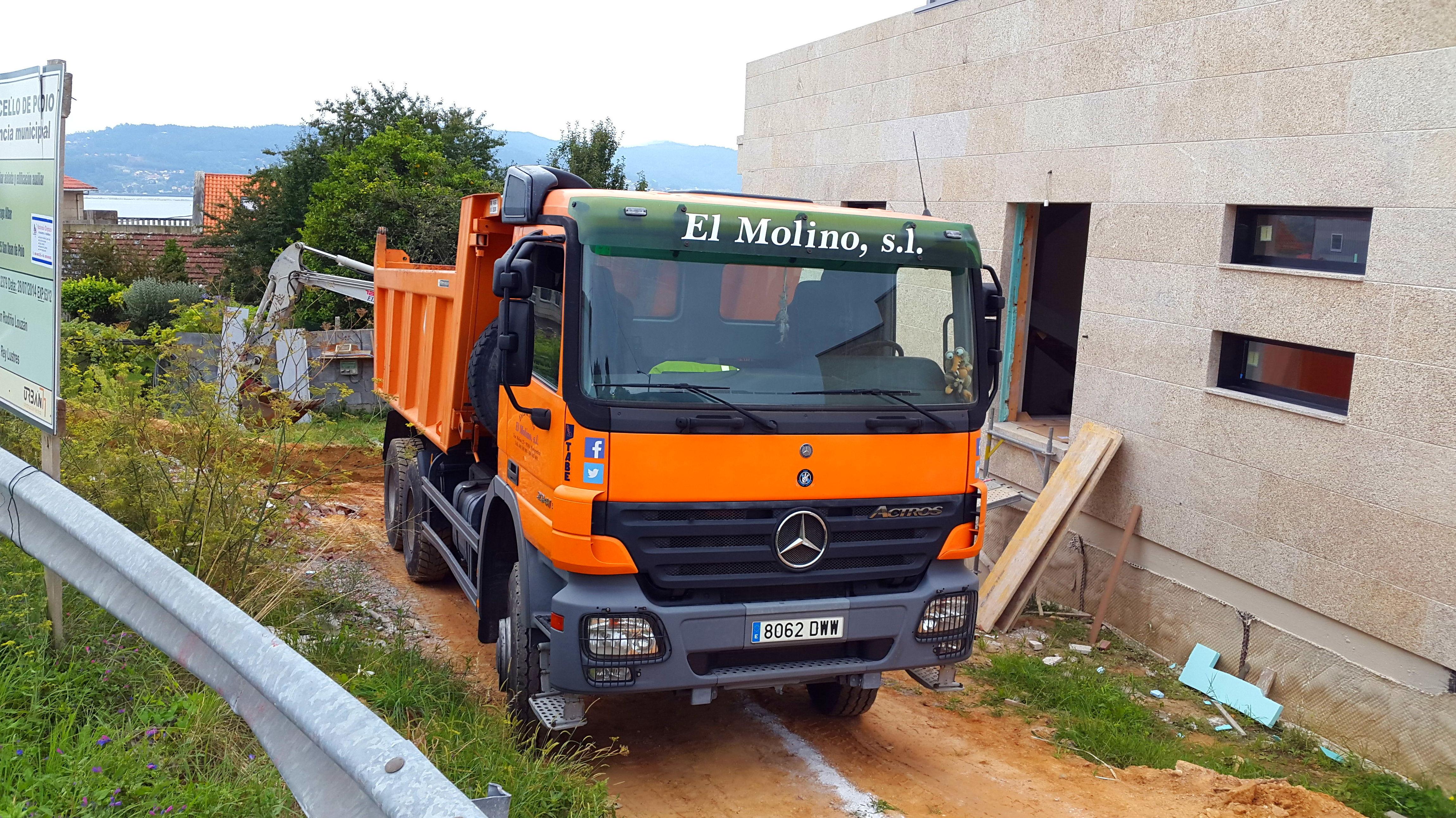 Foto 181 de Excavaciones en  | Excavaciones El Molino, S.L.