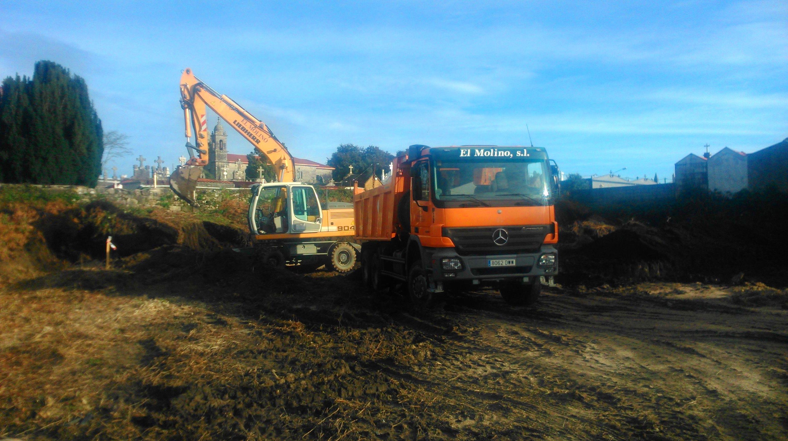 inicio de los trabajos para el nuevo centro social de Salcedo-Pontevedra