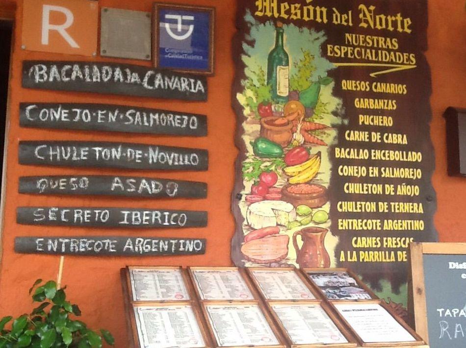 Foto 10 de Cocina canaria en Buenavista del Norte | Restaurante Meson Del Norte