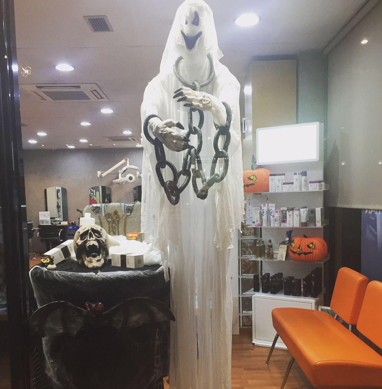 # Hallowenn 2016 en Asia Peluquería