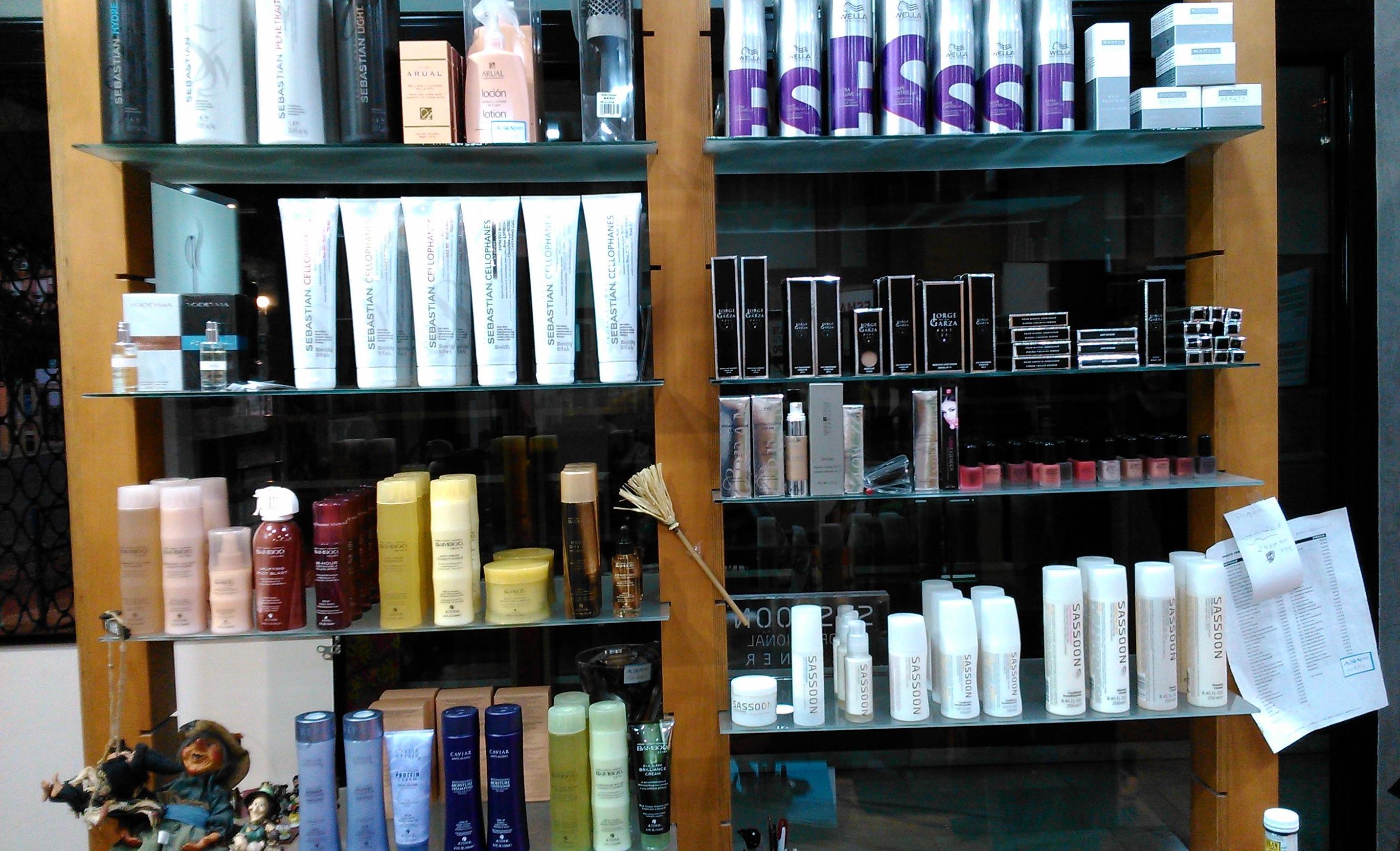 Asía Peluquería, venta de productos de peluquería y estética