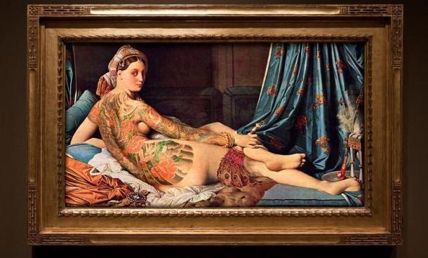 """Artista francés nos muestra a través de su obra """"el arte del tatuaje"""""""