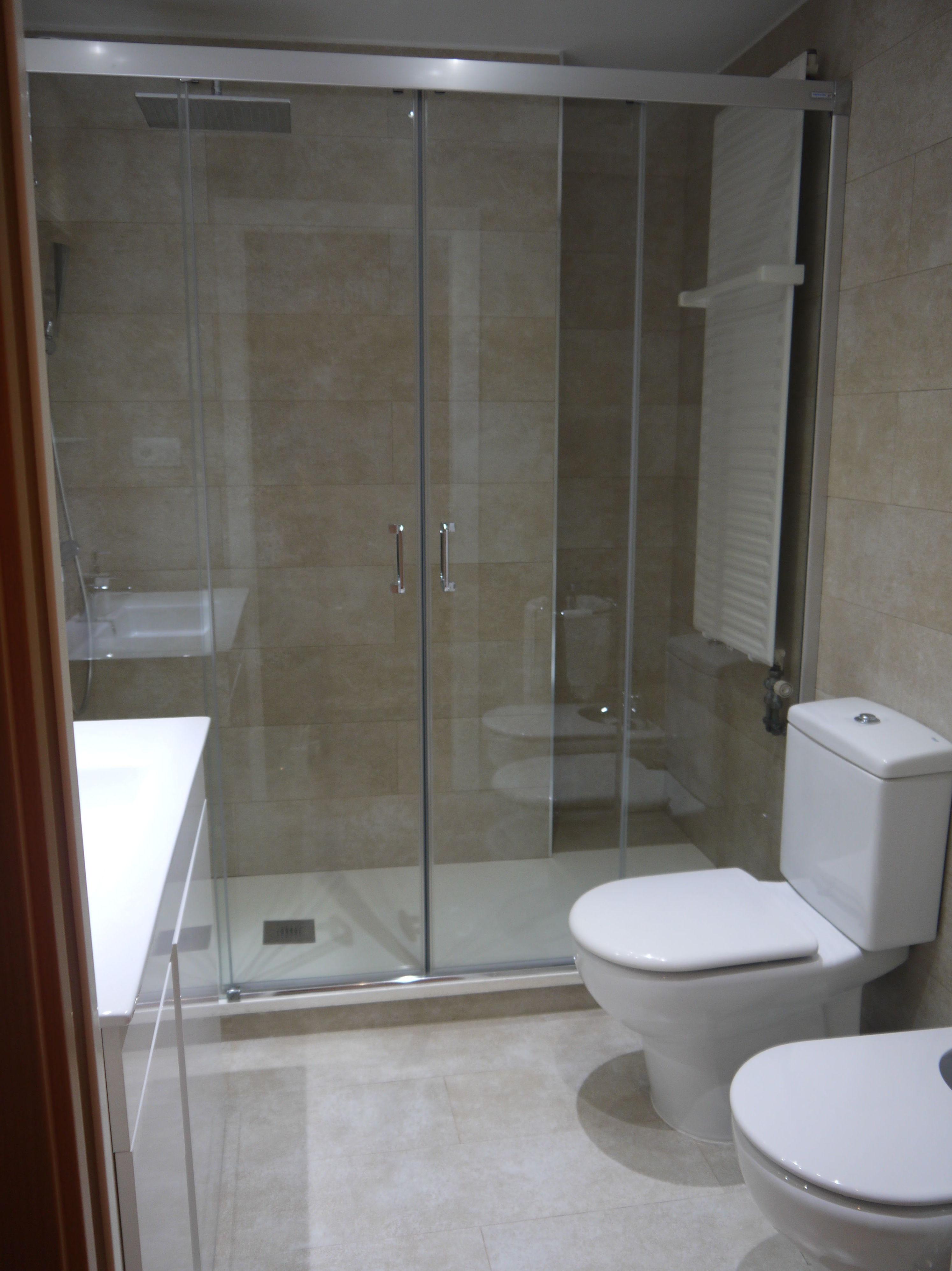 Bao con ducha bao pequeno con de banos modernos pequenos for Duchas disenos modernos