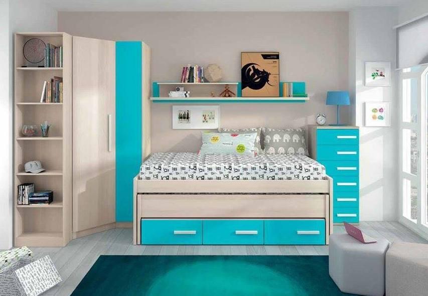 Dormitorios modernos baratos for Habitaciones juveniles completas baratas