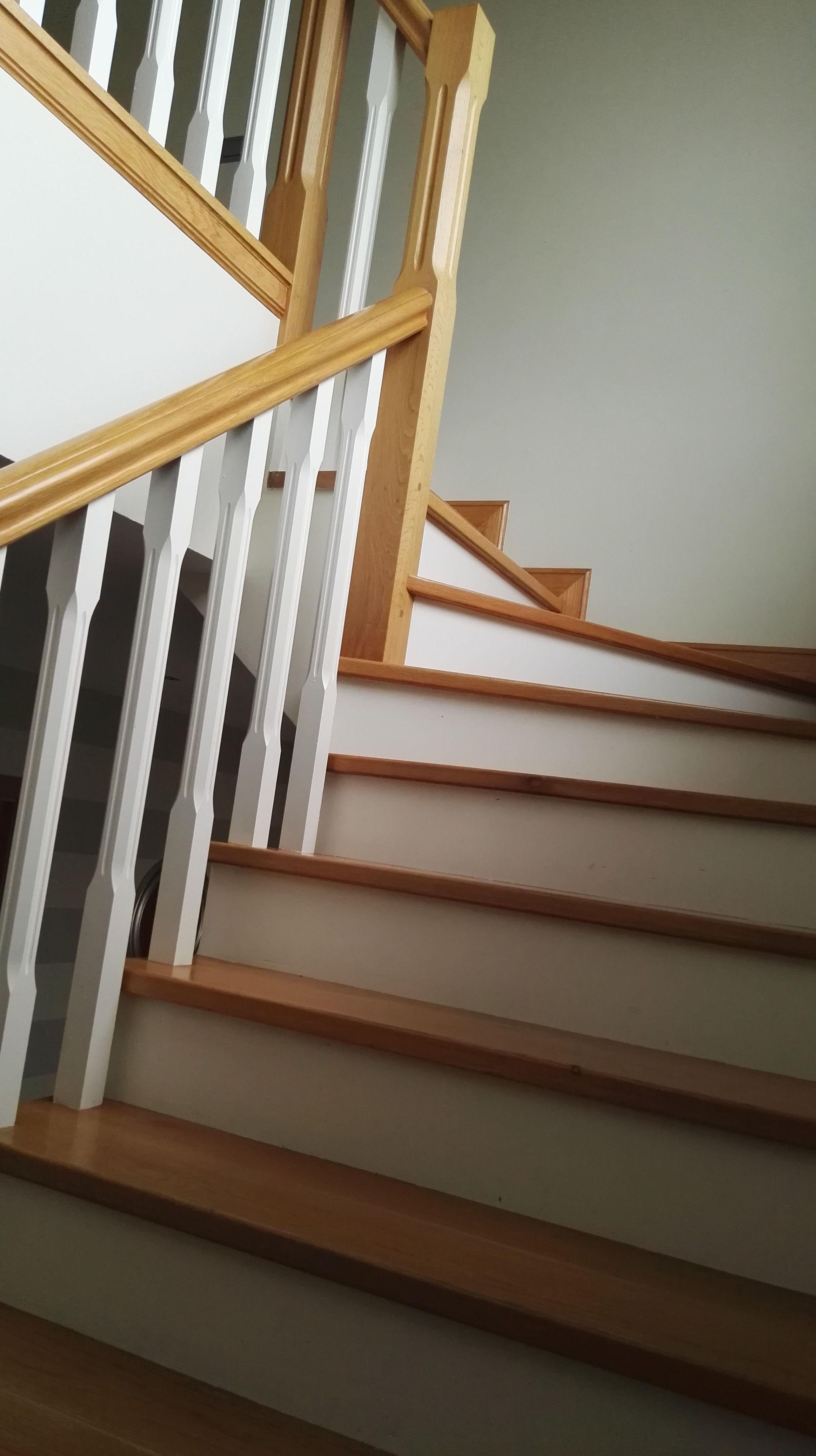 Hacer escalera de madrera