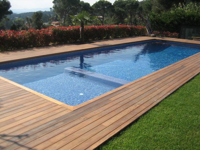 Tarima de ipe productos y servicios de piscinas unic - Tarima para piscinas ...