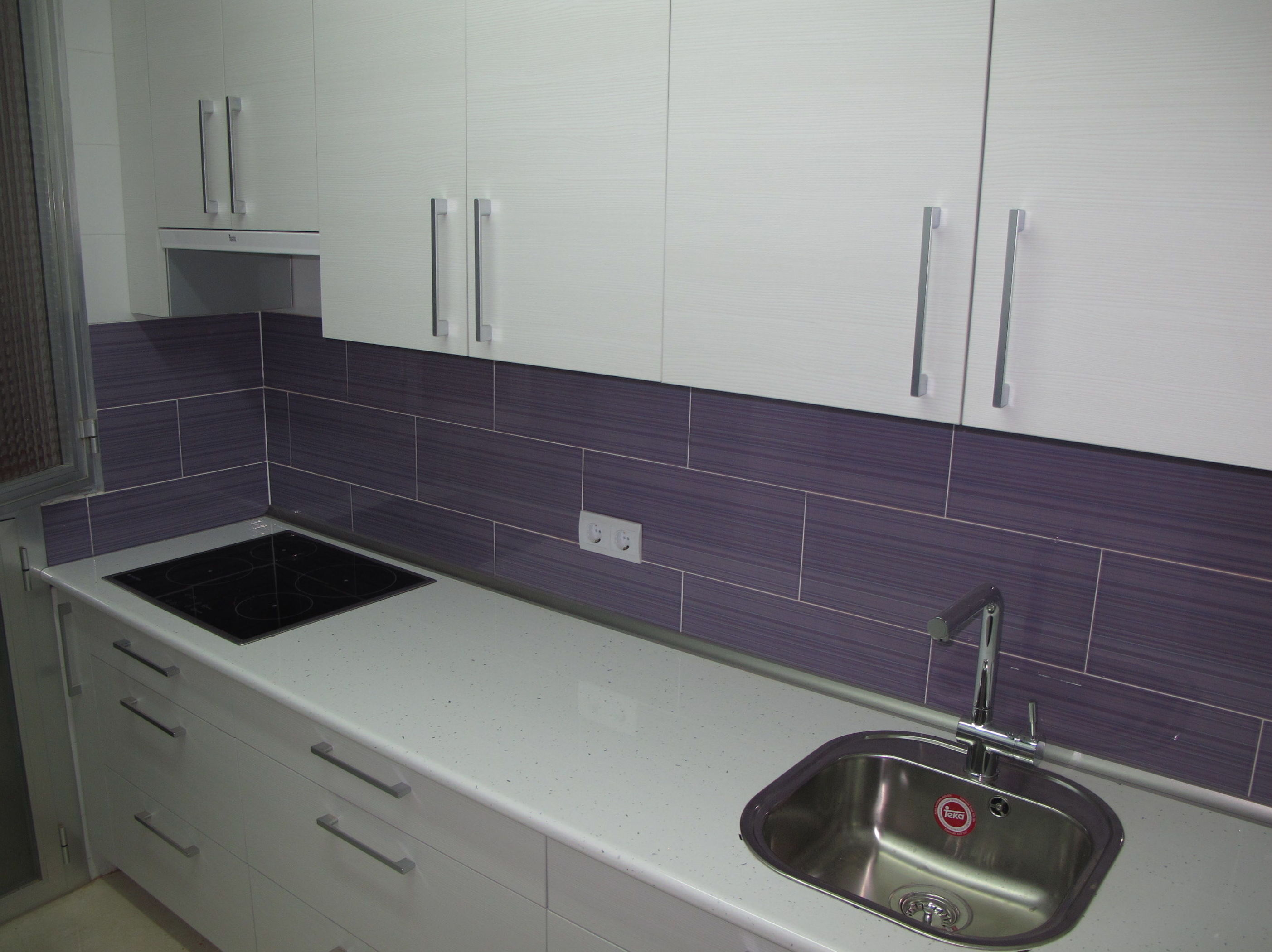 Muebles de cocina proyecto realizado en madrid cat logo - Muebles de cocina madrid ...