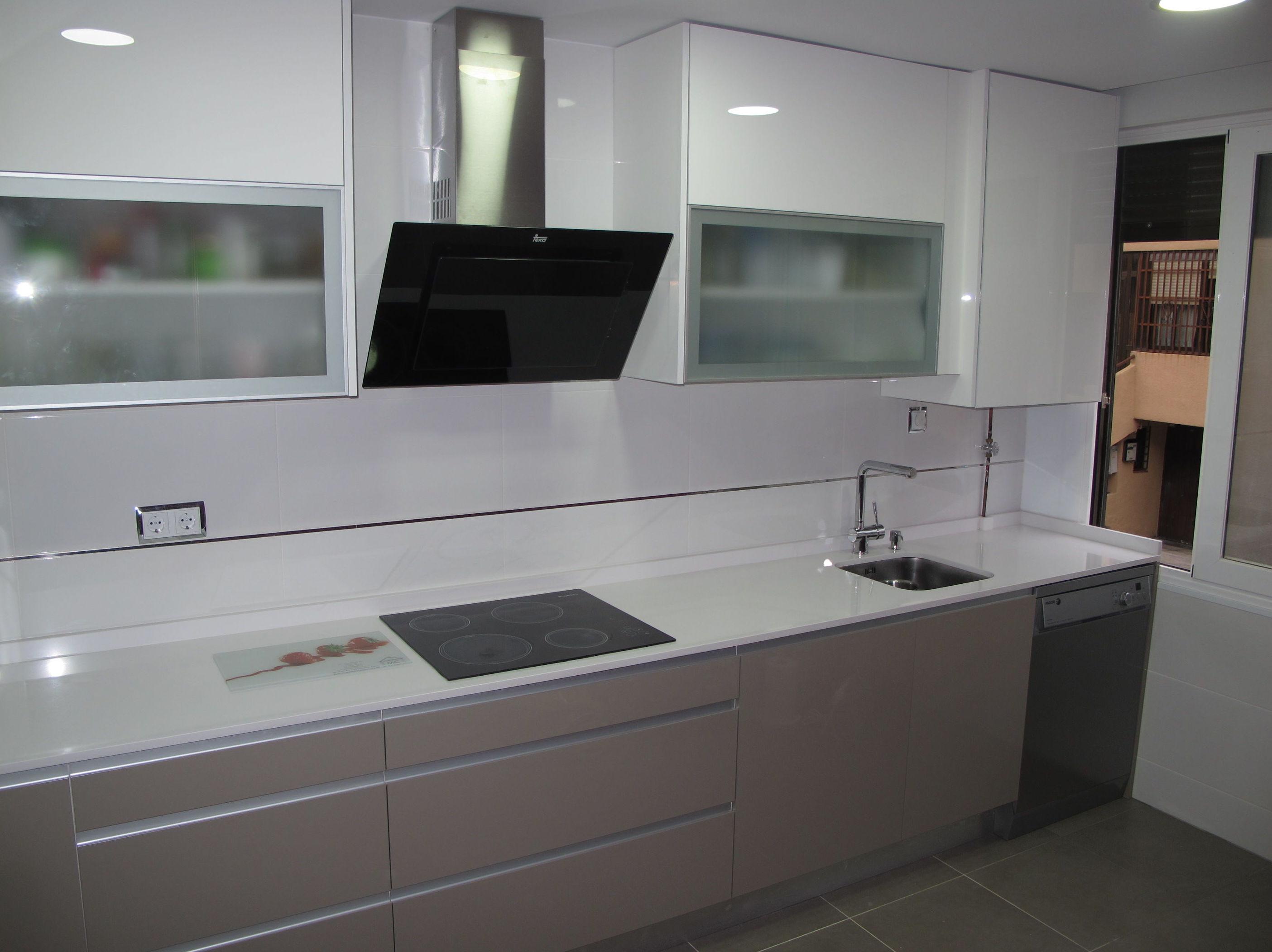 1f dise os cocinas mc proyecto realizado en boadilla del for Disenos de muebles de cocina