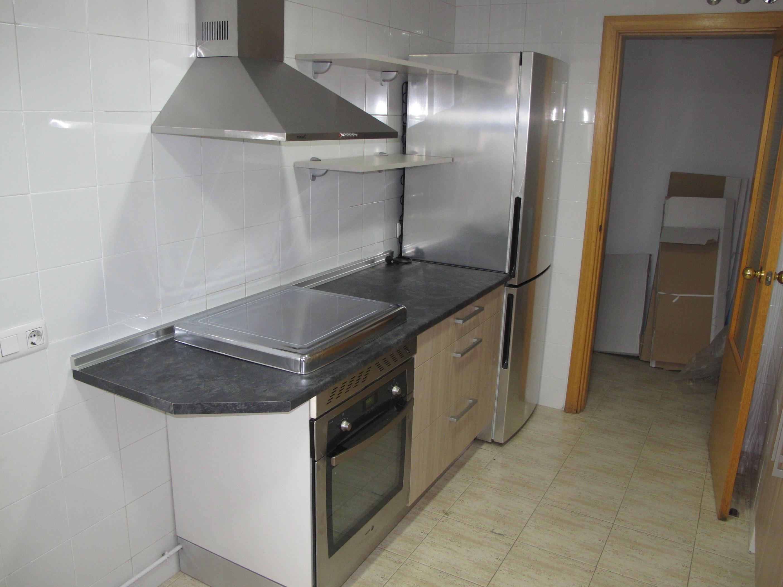 1h oferta muebles cocina mate satinado beige y olmo - Catalogo muebles de cocina ...