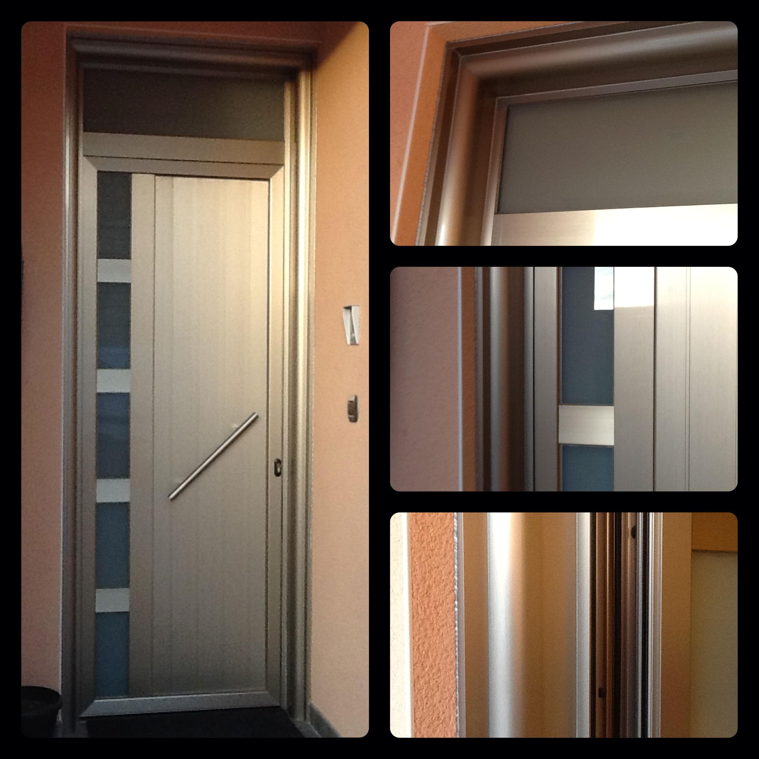 Colores de aluminios para ventanas finest de aluminio for Puerta entrada aluminio