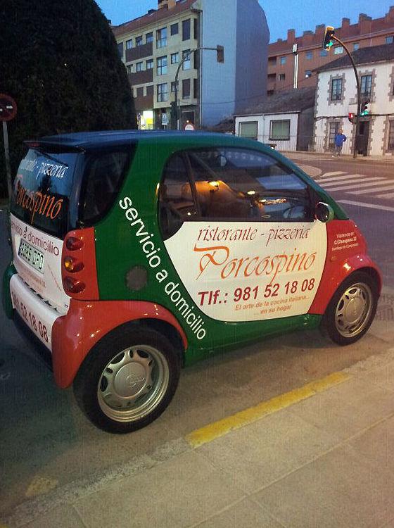 Auténtica comida italiana a domicilio en Santiago de Compostela