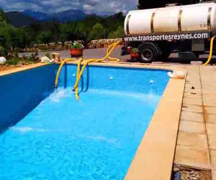 Suministro agua potable mallorca