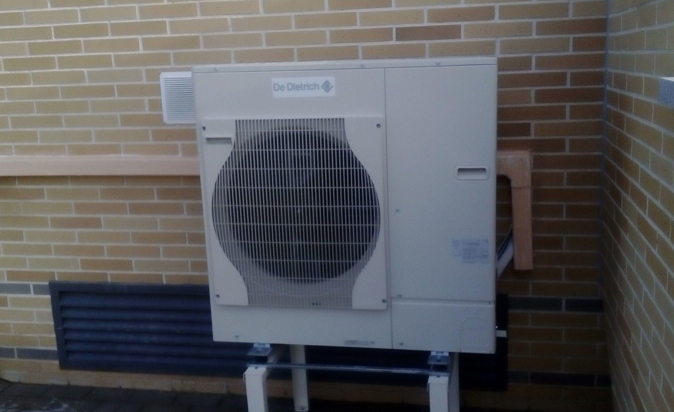 Calefaccion por sistemas de calefaccion por agua caliente for Calefaccion por aerotermia
