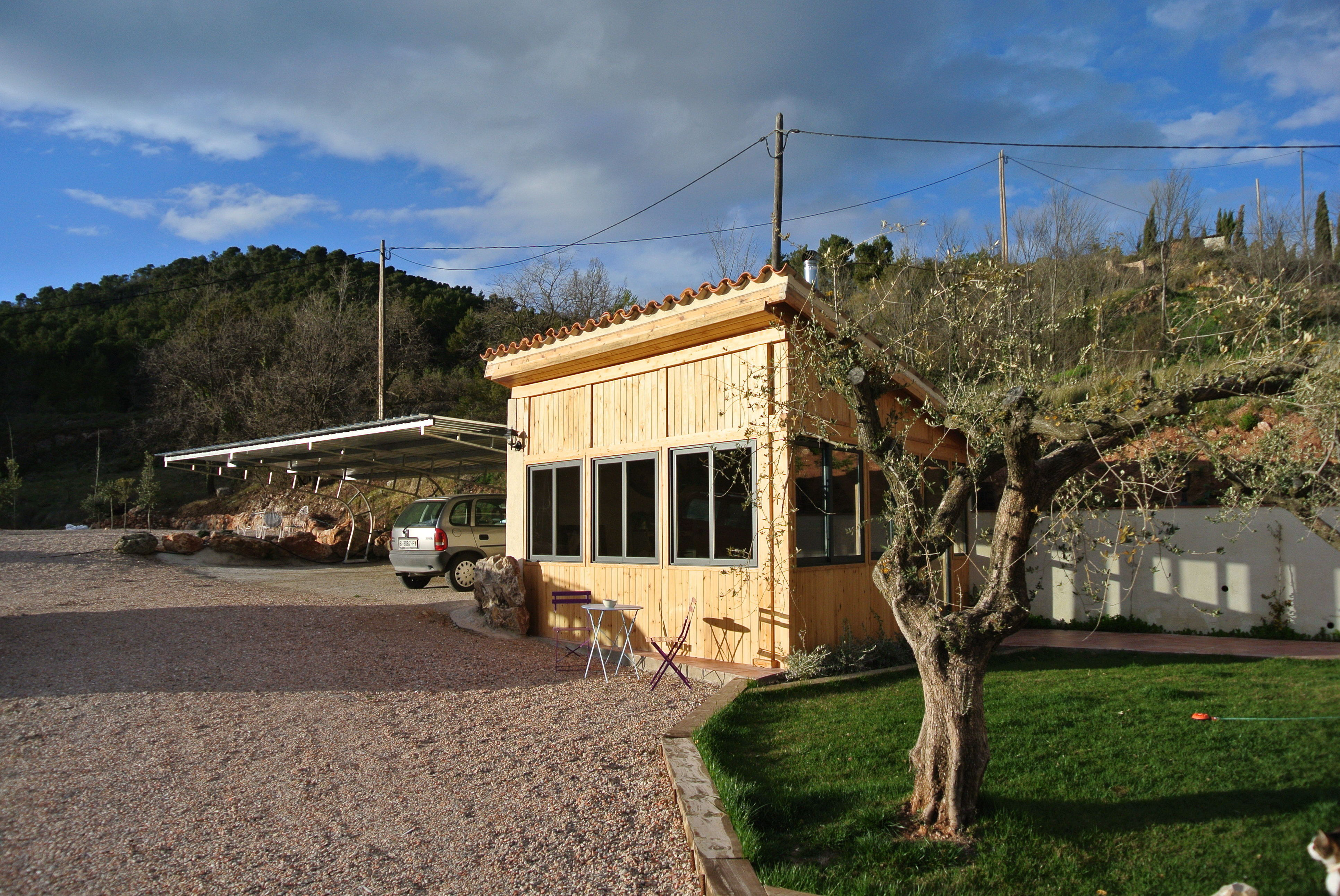 Casa Rural Con Barbacoa.